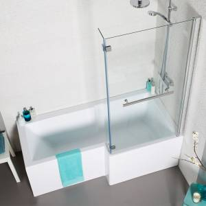 Tetris Square Shaped Shower Bath