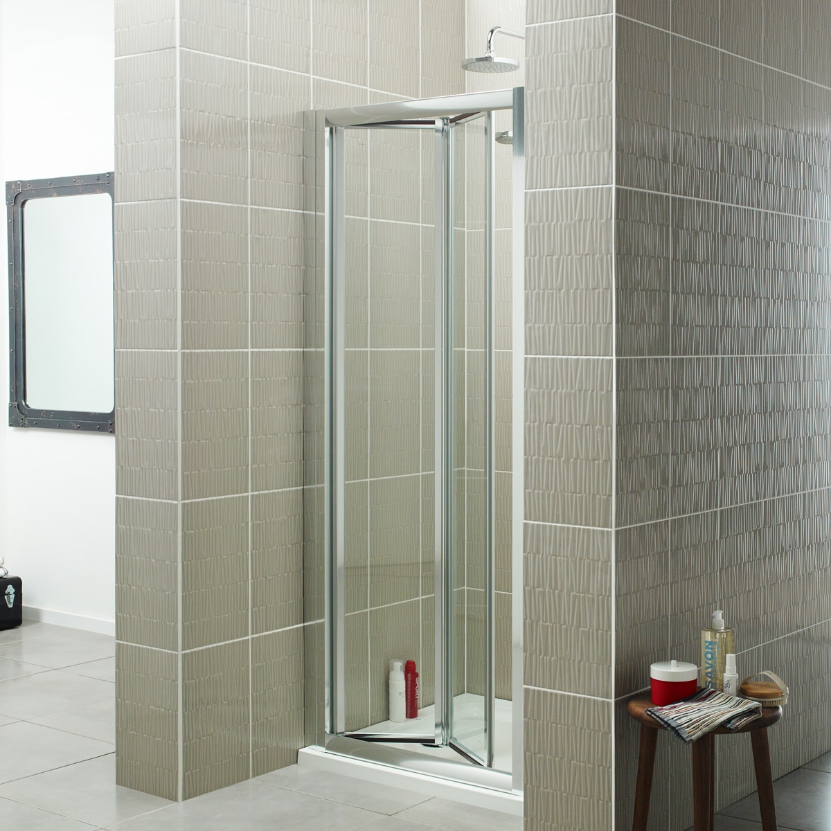 Koncept Bi Fold Shower Enclosure Bathroom Studio Keighley