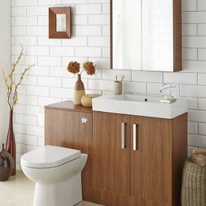 Liberty Bathroom Furniture in Walnut