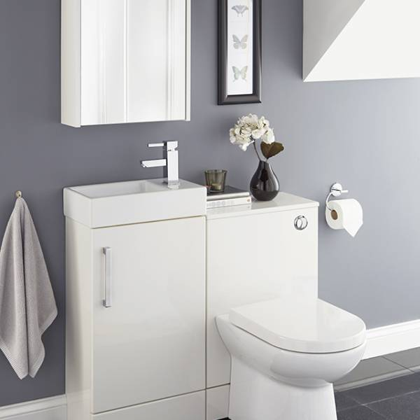 Liberty Bathroom Furniture in White