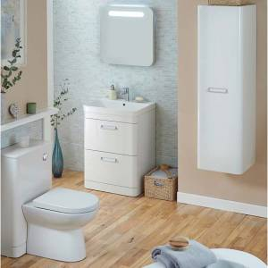 Metro Bathroom Furniture in White