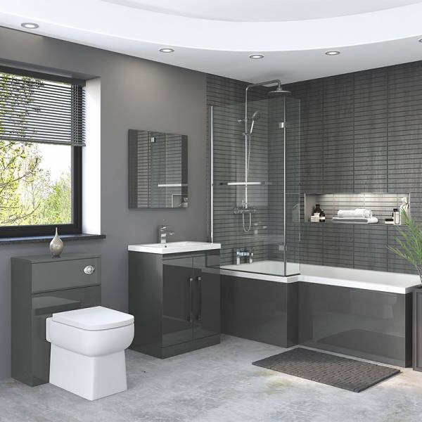 Nevada Grey Bathroom Furniture