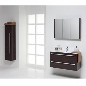 Purity Bathroom Furniture in Chestnut