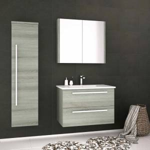 Purity Bathroom Furniture in Grey Ash
