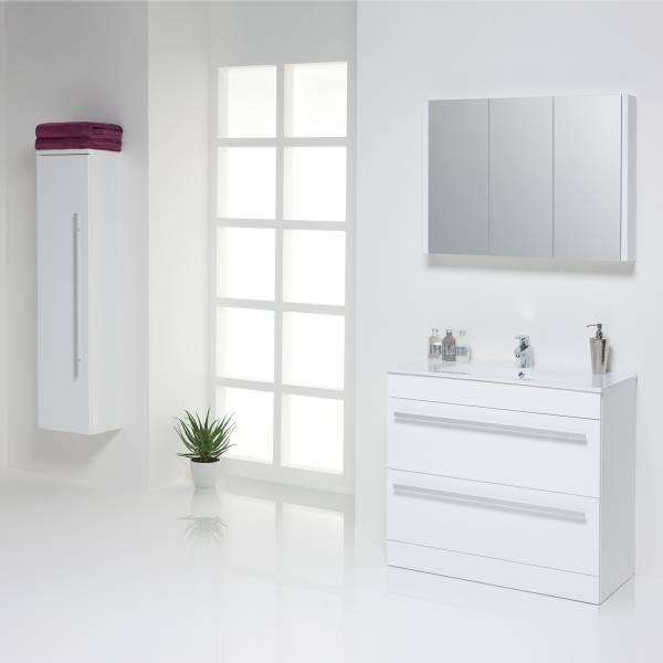 Bathroom Furniture - Purity Set in White
