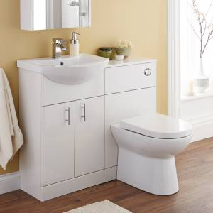 Jubilee Bathroom Furniture in White
