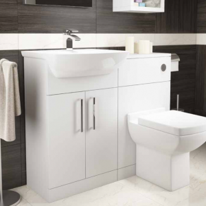 Pure Bathroom Furniture in White